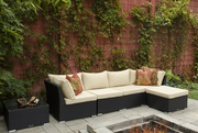 Patio 6 Piece Sectional Sofa Set on Sale