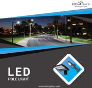 Best LED Pole Lights For Parking Lot,  Hotels,  Motels