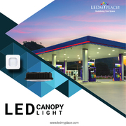 LED Canopy lights - A relaxing and safer lighting option for outdoors.