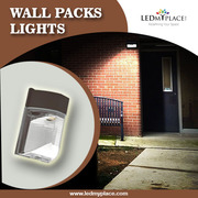 Buy The Best quality LED Wall Packs for exterior lighting applications