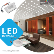 Style up your living space with classy LED downlights.
