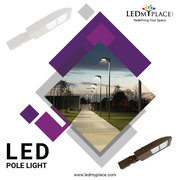 The Best Quality Energy Saving  LED pole lights, BUY NOW!
